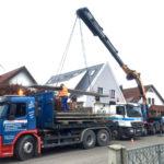 Kran Effer Containerwagen Augsburg