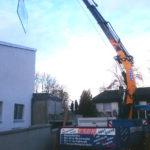 Spezialkran Effer Gebäudebau Augsburg