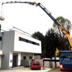 Kran Effer Augsburg Dacharbeiten