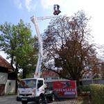 Hebebühne 20 Meter Forstarbeiten