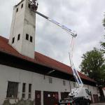 Hebebühne 20 Meter Turmarbeiten