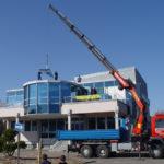 Spezialkran Augsburg Büro Aufbau