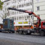 Spezialkran Anhängertransport Augsburg