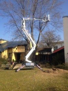 Raupen Hebebühne 17 Meter